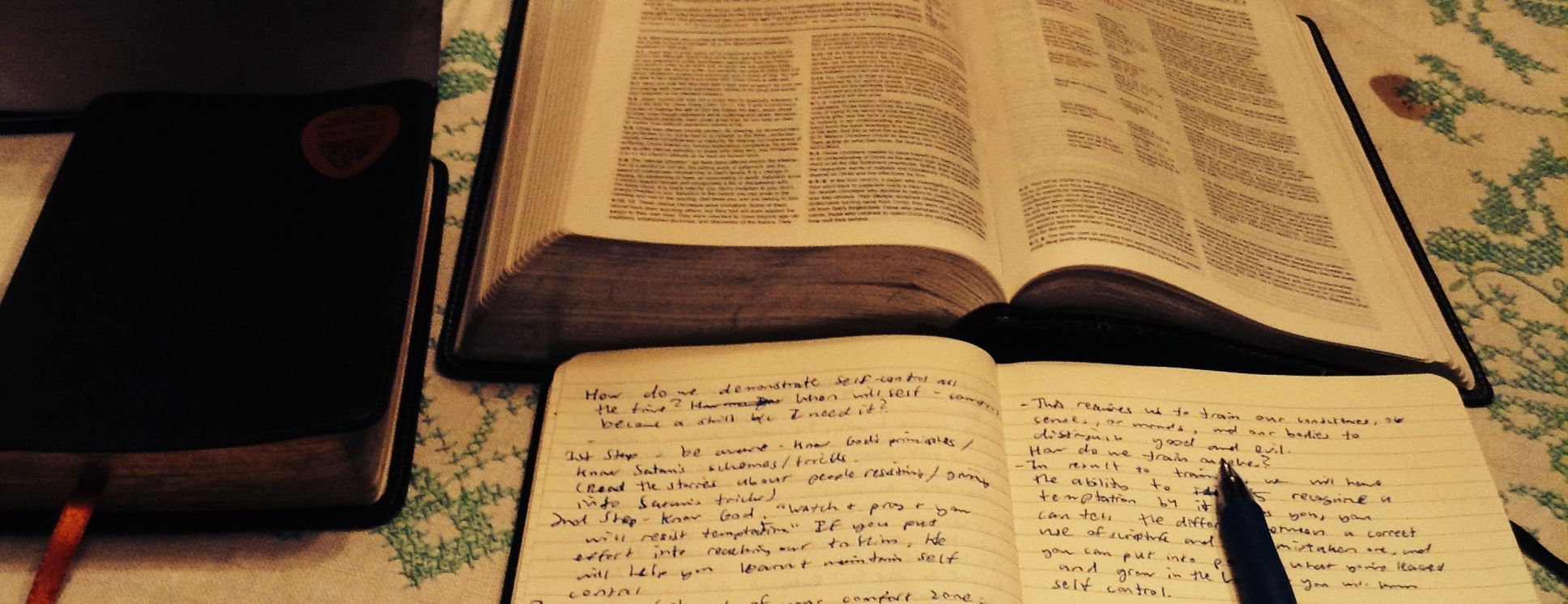 Bible Study Lesson Outlines